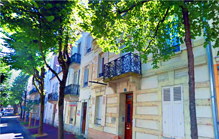 La Résidence Desbrest et la Villa Des Orangers à Vichy